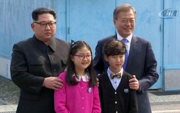 Kim ile Moon'un tarihi görüşmesi