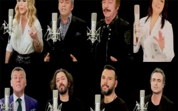 Büyük beğeni topladı: Ünlü sanatçılardan Afrin türküsü!