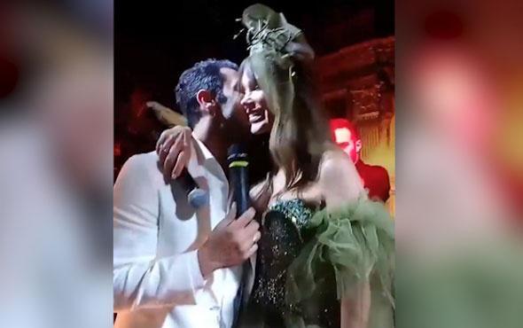 Seren Serengil Yaşar İpek nişanlandı işte düğünden ilk görüntüler