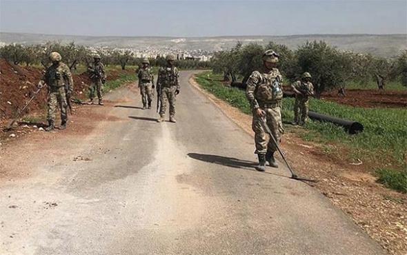 TSK yayınladı: Afrin'de bombalı tuzaklar imha ediliyor!
