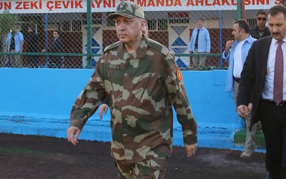 Erdoğan'ın giydiği kamuflaj üniformanın hikayesi