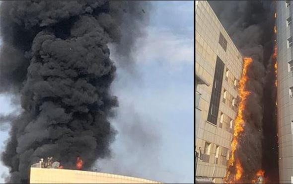 Taksim İlkyardım Hastanesi'nde korkunç yangın!