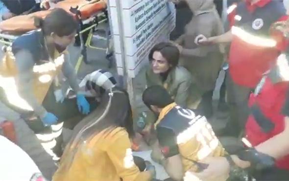 Kriz geçiren hastaya ilk müdahaleyi CHP'li Kaftancıoğlu yaptı!