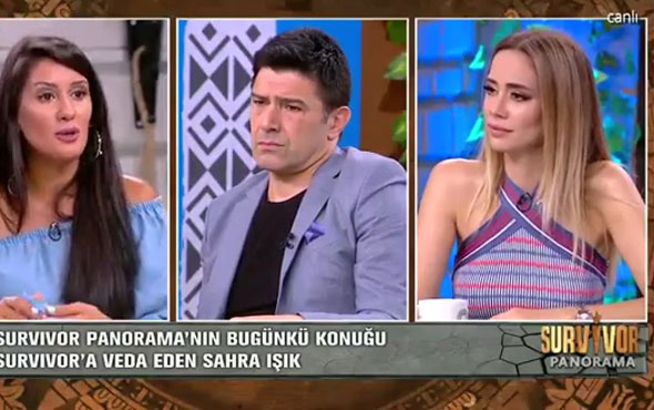 Survivor Sahra'dan Ümit Karan'a şoke eden sözler!