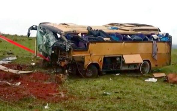 Feci kaza çok sayıda ölü ve yaralı var