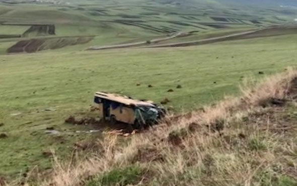 Ardahan'da feci kaza çok sayıda ölü ve yaralı var