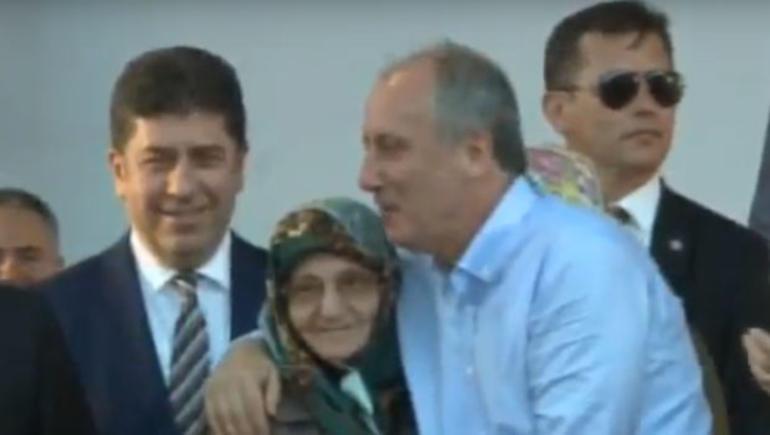 CHP'li İnce'ye anneler günü sürprizi