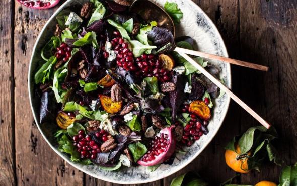Narlı Cevizli Salatası nasıl yapılır?