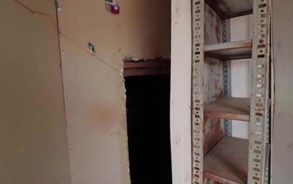 Manzara ürkütücü! Terk edilmiş kampta gizli bir oda bulundu