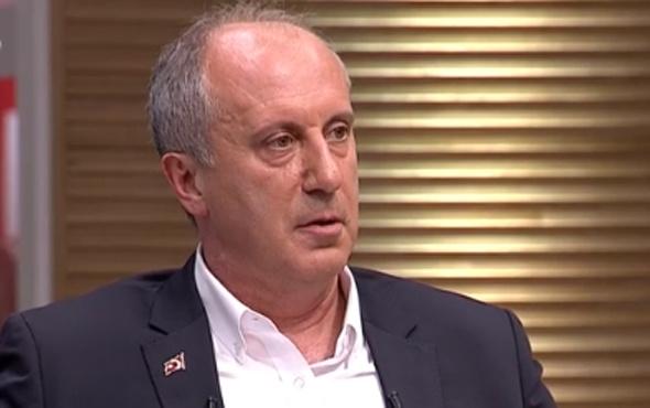 Muharrem İnce'den CHP'ye adaylık açıklaması