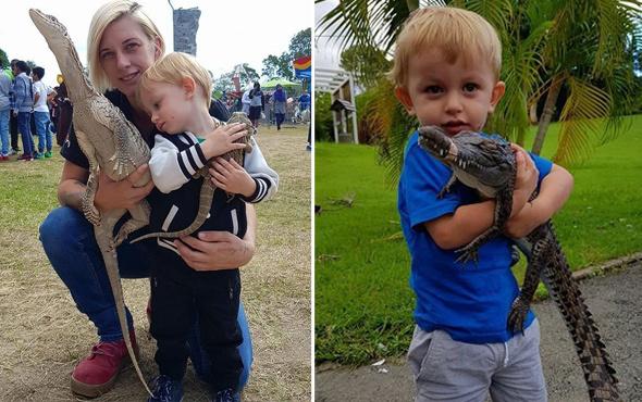 İnanılmaz aile hayrete düşürdü! Vahşi hayvanları elleriyle avlayıp...