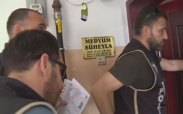 'Medyum'lara şok operasyon: 5 kişi gözaltında