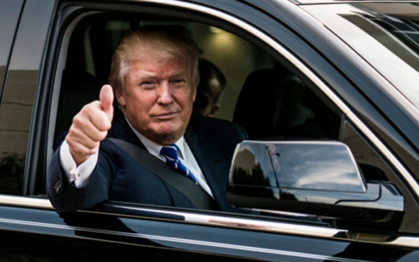 Trump: Bu ABD tarihin en büyük cadı avıdır