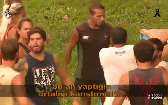 Survivor'da ortalık fena karıştı! Hilmicem ile Mustafa birbirine girdi