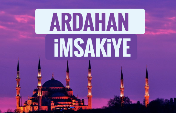 Ardahan iftar saati sahur imsak vakti-2018 Ardahan İmsakiyesi