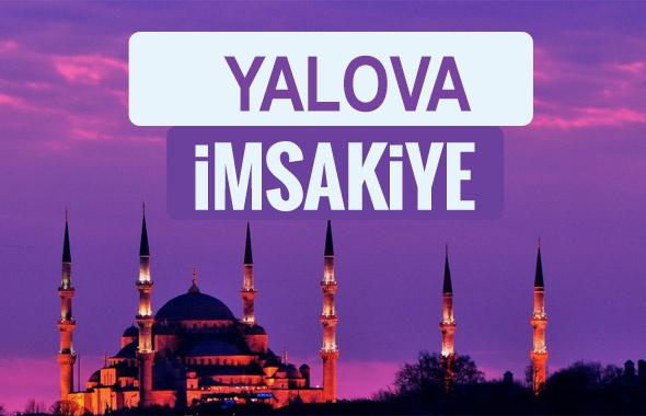 Yalova iftar saati sahur imsak vakti-2018 Yalova  İmsakiyesi