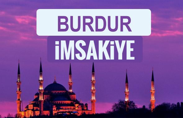 Burdur iftar saati sahur imsak vakti-2018 Burdur İmsakiyesi