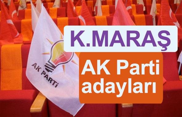 AK Parti Kahramanmaraş milletvekili adayları kimler 2018 listesi