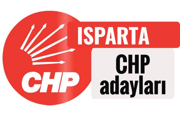 CHP Isparta milletvekili adayları kimler 2018 listesi
