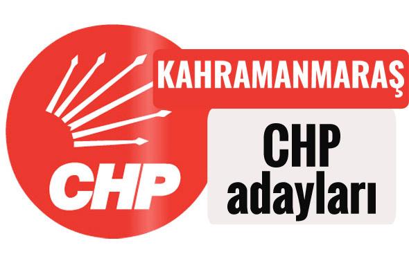 CHP Kahramanmaraş milletvekili adayları kimler 2018 listesi