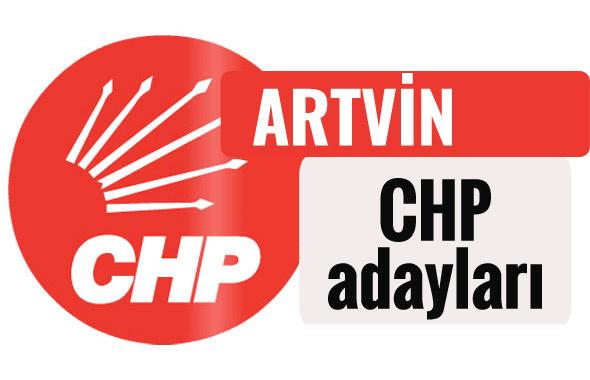 CHP Artvin milletvekili adayları kimler 2018 listesi