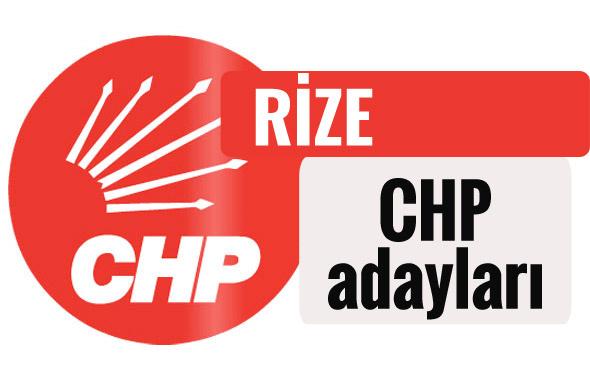 CHP Rize milletvekili adayları kimler 2018 listesi
