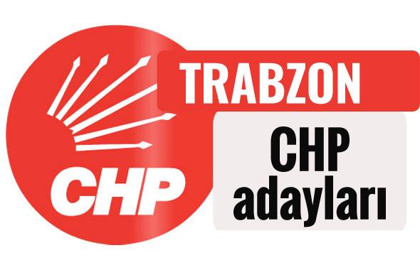 CHP  Trabzon milletvekili adayları kimler 2018 listesi