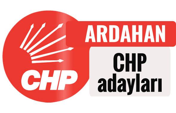 CHP Ardahan milletvekili adayları kimler 2018 listesi