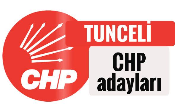 CHP Tunceli milletvekili adayları kimler 2018 listesi