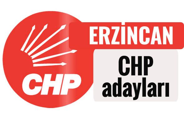 CHP Erzincan milletvekili adayları kimler 2018 listesi