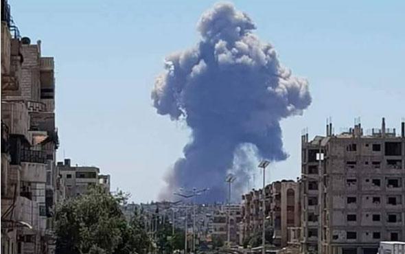 Suriye'deki İran üssünde patlama sesleri