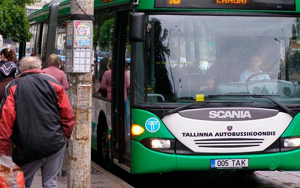 Estonya'da tüm toplu taşıma ücretsiz oluyor