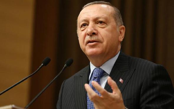 Erdoğan: Kudüs-ü Şerif'teki haklarımızdan taviz vermemekte kararlıyız