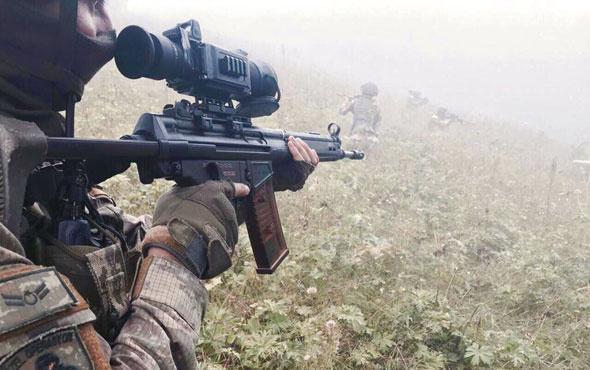 Kuzey Irak'taki terör saldırısında 2 asker şehit oldu