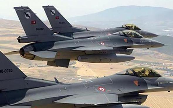Kuzey Irak'ta hava harekatı: 4 hedef imha edildi