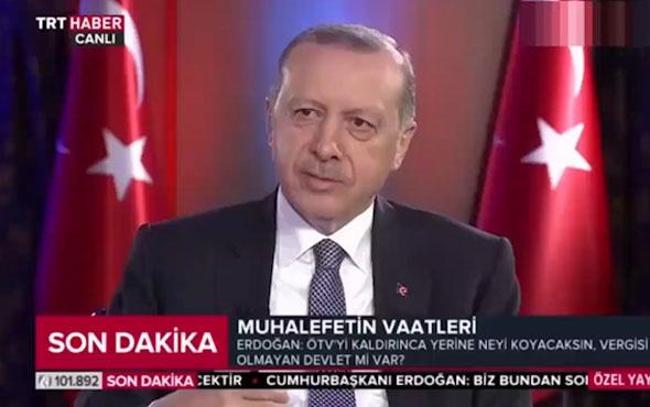 Erdoğan son anket sonuçlarını böyle açıkladı