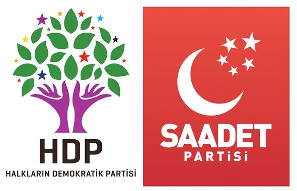 Saadet Partisi ve HDP'nin milletvekili aday listelerinde şok!