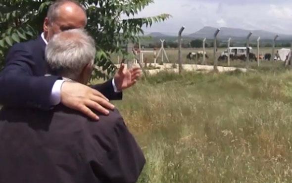 Muharrem İnce ile Uşaklı çoban arasında dikkat çeken diyalog