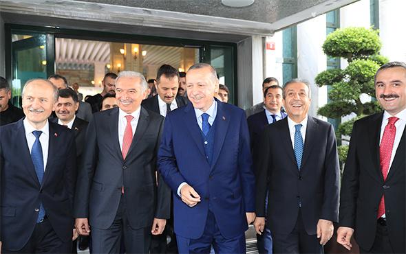 İBB, Cumhurbaşkanı Erdoğan'ı ağırlamanın gururunu yaşadı