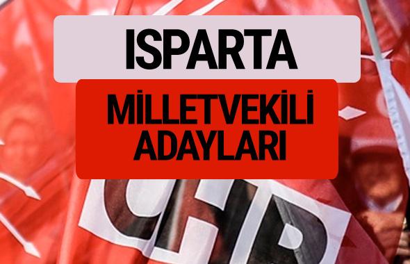 CHP Isparta milletvekili adayları isimleri YSK kesin listesi