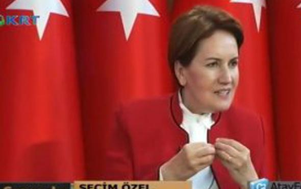 Akşener'den TRT'ye tehdit: Satacağım