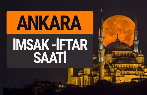 Ankara imsak vakti iftar sahur saatleri -Sabah akşam ezanı kaçta?