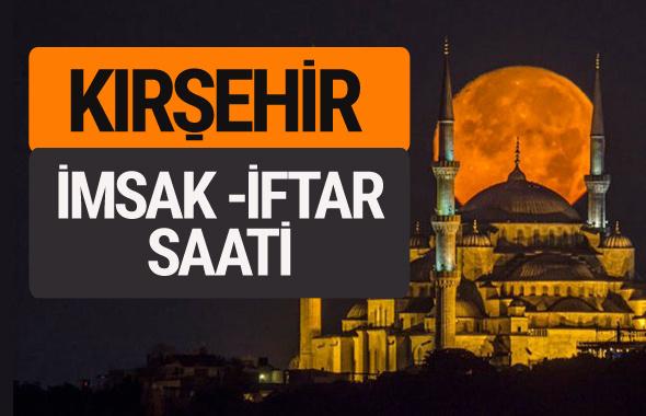 Kırşehir imsak vakti iftar sahur saatleri -Sabah akşam ezanı kaçta?