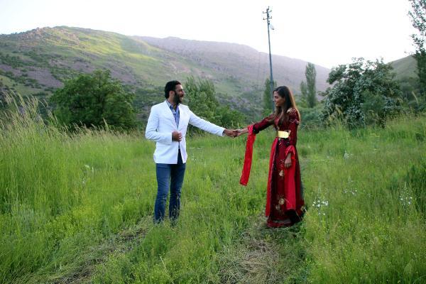 Fransa'da evlendiler, Kato Dağı'nda balayı yaptılar
