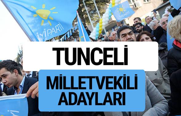 Tunceli İyi Parti milletvekili adayları YSK kesin isim listesi