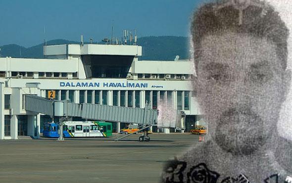 Dalaman Havaalanı'nda korkunç olay! Uçaktan indirilmişti