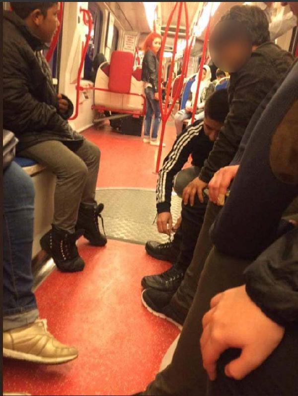 Tramvayda insanlık dersi vermişti! Bakın kim olduğu ortaya çıktı