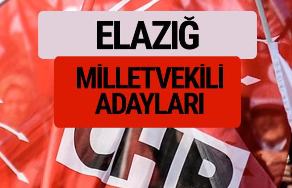 CHP Elazığ milletvekili adayları isimleri YSK kesin listesi