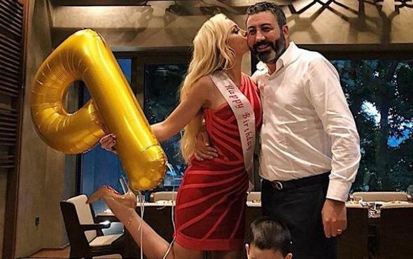 Petek Dinçöz'e sürpriz doğum günü partisi