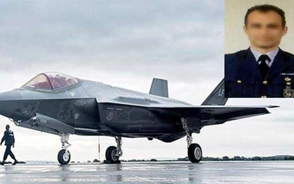 F-35 projesine giden astsubay deşifre oldu